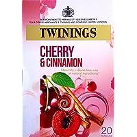 Twinings cereza y canela 4 x 20 bolsitas de té