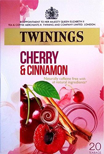 Preisvergleich Produktbild Twinings Kirsche & Cinnamon 4 x 20 Teebeutel
