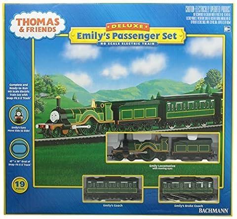Bachmann Trains Emily's Passenger Set Ready-to-Run HO Train Set by Bachmann Trains