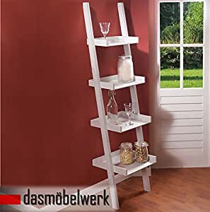 Tag re murale chelle avec 4 tablettes style ancien for Etagere murale style campagne