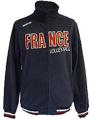 Sweat zippé Errea France volley Lake