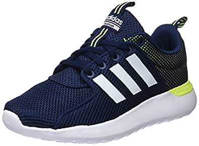 adidas Men's Cloudfoam Lite Racer Competition Running Shoes, Blue (Conavy/Ftwwht/Syello 000), 3.5 UK