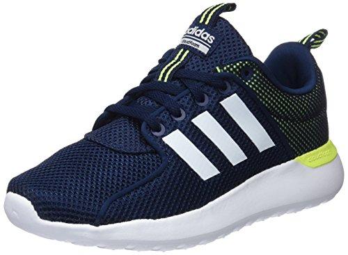 Adidas Cf Lite Racer, Scarpe Running Uomo, Blu (Collegiate Navy/Footwear White/Solar Yellow), 38 EU