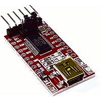 Mobotronix Adaptador FTDI FT232RL 3.3V 5V USB a TTL serie