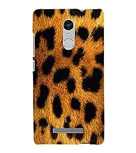 FUSON Leopard Texture Fur Background 3D Hard Polycarbonate Designer Back Case Cover for Xiaomi Redmi Note 3 :: Xiaomi Redmi Note 3 Pro :: Xiaomi Redmi Note 3 MediaTek