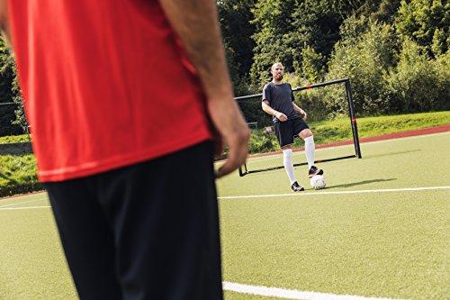HUDORA Fußballtor Tor Pro Tect Fußball Tor für Kinder und Erwachsene, Erhältlich in drei Größen, Fußballtor metall