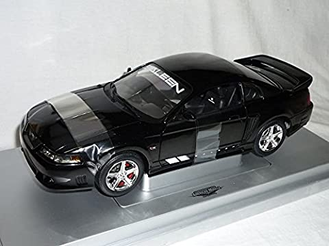 Ford Mustang Saleen S281 2004 Coupe Schwarz 1/18 American Muscle Modellauto Modell Auto
