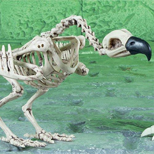 Geier Skelett Halloween Party Kunststoff Prop (Geier Dekorationen)