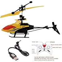 SKYPER Helicopter with Hand Sensor Remote Control- Charging Helicopter 2 in 1 Toys with 3D Light Toys for Boys Kids…