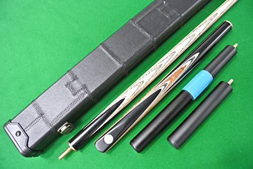 """Clearance 11mm Tip 57"""" Economy 4pc Length Adjustable Snooker Pool Cue"""