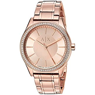 Armani Exchange Analog Rose Gold Dial Women's Watch-AX5442