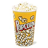 Pappeimer für Popcorn, klein, 4 Stück