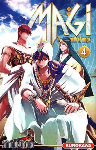 Magi - The Labyrinth of Magic Vol.4