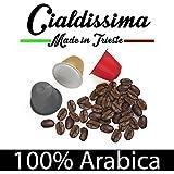 """cialdissima 100 Kapseln Nespresso Kompatibel 100% Arabica, Espresso Italiano - DREI Mischungen, MISCHPAKET, Arabicus - """"Le Arabiche"""""""