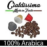 cialdissima 100 Kapseln Nespresso Kompatibel 100% Arabica