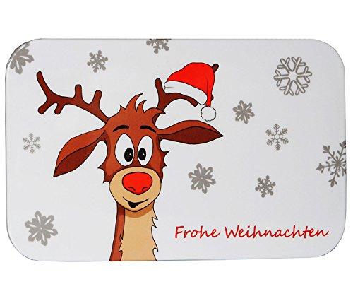 alles-meine.de GmbH Schneidebrett / Frühstücksbrett -  Didi Das Kleine Rentier  - aus Melamin - ..