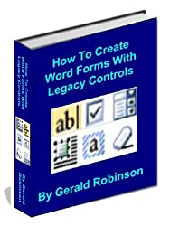 How To Create Word Forms With Legacy Controls (How To Create Forms In Word & Excel 2010)