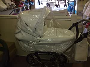 PVC RAINCOVER WITH ZIP ACCESS TO FIT BABYSTYLE PRESTIGE OR ZING