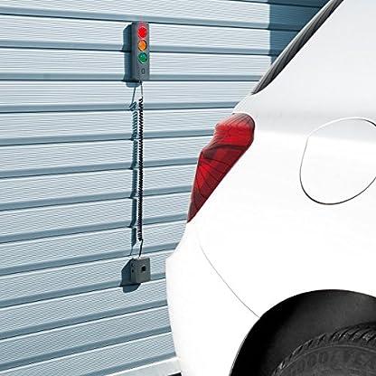 Lescars-Garageneinparkhilfe-Ultraschall-Einparkhilfe-Ampel-zur-Wandinstallation-Garagen-Parksensor