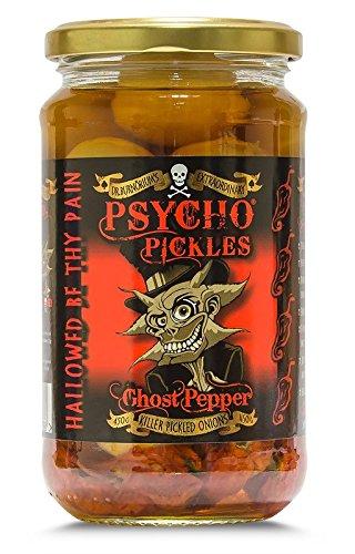 Psycho Onions - Fantôme Pepper marinés Oignons