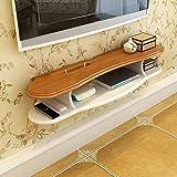 Regal An der Wand montiert Medien TV-Konsole Schwimmend Audio Video Fernsehtisch zum Kabelboxen Router Fernbedienungen Spieler (größe : 100cm)