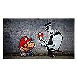Fabulous Poster Affiche Street Art Mario Graffiti