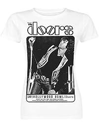 The Doors Hollywood Bowl Girl-Shirt weiß