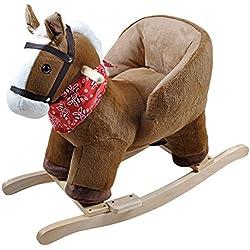 Knorrtoys 40391–Dondolo, cavallo a dondolo Britta con Sound