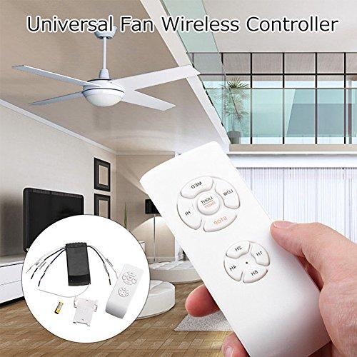 Telecomando universale ventilatore a soffitto lampada 110V/V domestici wireless Timing controllo ventola, Pictured, Taglia libera