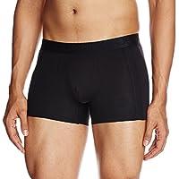 Jockey Men's CottonTrunks (IC25-0105-BLACK Black M_Black_M)