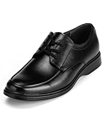 MUNNI New Men Leather Dress Shoes Round Toe Oxford Shoes For Men Lace-up Walking Shoes Male Soft Party Wedding...