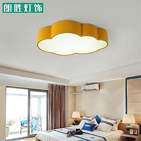 Lilamins Led-Decke Licht Kinderzimmer Wolken mich Park für Jungen und Mädchen führten zu Kinderzimmer LightingLighting für Wohnzimmer?Büro, Bad, Küche, Diele, bündig Deckenleuchten, 600 mm