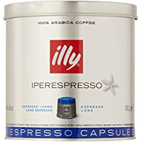 illy Iperespresso Long Coffee Capsules, 21-Count