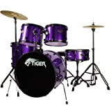 Tiger DKT28-PU Kit de Batteries Acoustiques 5 éléments - Violet