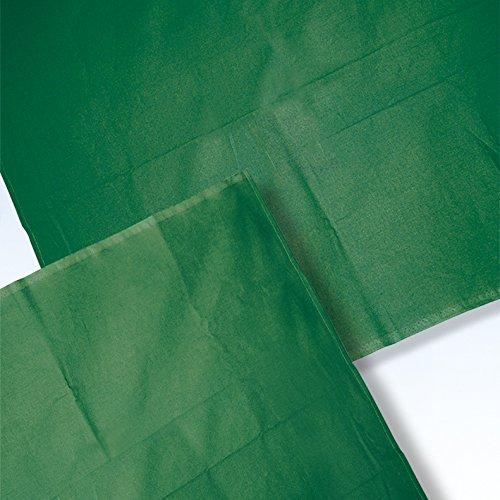 Abdecktuch 40 x 40 cm forstgrün 100 % Baumwolle