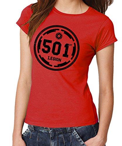 - 501st Legion - Girls T-Shirt Rot, Größe ()