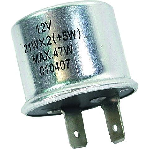 FL5 12 V 2 pin redondo Teckniks intermitente fusible