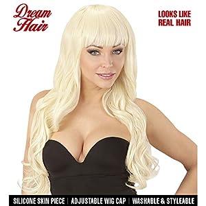 WIDMANN 06446peluca Melania Drea mhair, mujer, Rubio, One size