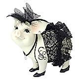 Design Toscano Lace and Lard, Madame Pig Statue