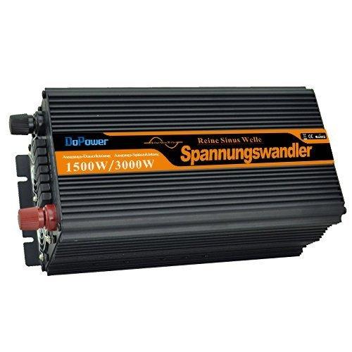 spannungswandler 1500 3000W wechselrichter reiner sinus 24V 230V LCD power inverter