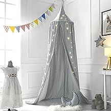 Premium Moskitonetz, Kuppel Prinzessin Bett Baldachin Baumwolltuch Kinder  Spielzelt Kinderzimmer Dekorieren Für Baby Kinder Lesung