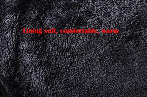 Morezi Wasserdichte Hundejacke für den Winter, mit warmem Fleece-Futter, Outdoor-Kleidung, mit verstellbaren Bändern für mittelgroße und große Hunde - 4