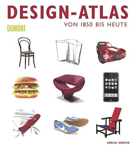 Design-Atlas: Von 1850 bis heute Buch-Cover