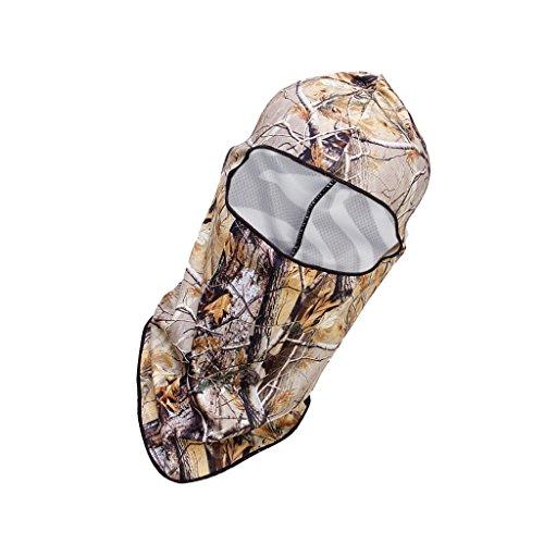 Máscara Protector Cara Cabeza Cubierta Pasamontañas Caza Táctica Montar Pesca