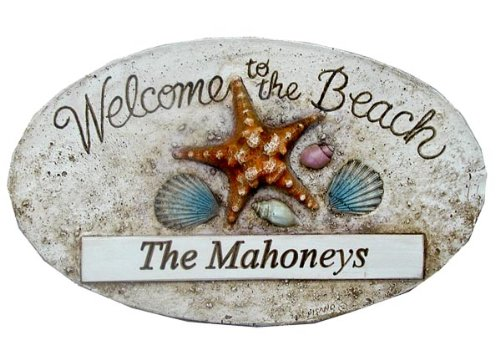 Welcome to The Beach Personalisiertes Schild