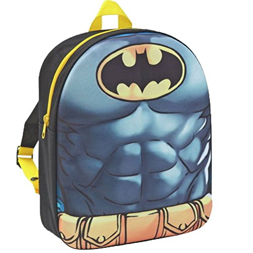 Batman Sac à dos enfants, gris (gris) - BATMAN001022