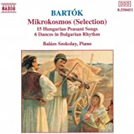 Bartok: Mikrokosmos (Selection) / Hungarian Peasant Songs, Sz. 71