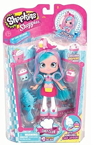 Shopkins Shoppies 15cm Chef Club Doll - Jessicake BNIB 5Yrs  UK Fast