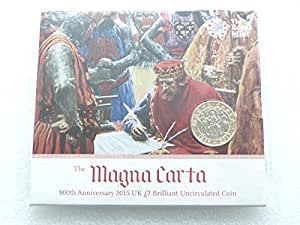 The 2015 800th Anniversary of Magna Carta UK £2 BU Coin by The Royal Mint