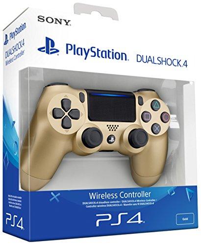 Sony - Dualshock 4 V2 Mando Inalámbrico, Color Dorado...